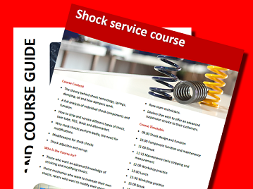 Motorcycle Suspension School Prospectus and Course Guide November 2019